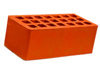 Керамический кирпич строительный (рядовой) пустотелый m-125 гладкая Михнево