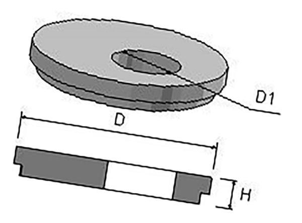 Крышка колодца ПП 15ч