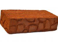 Керамический кирпич строительный (рядовой) полнотелый m-150 рифленая Энгельс