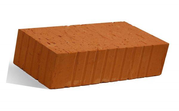 Керамический кирпич строительный (рядовой) полнотелый m-125 рифленая Новый Иерусалим
