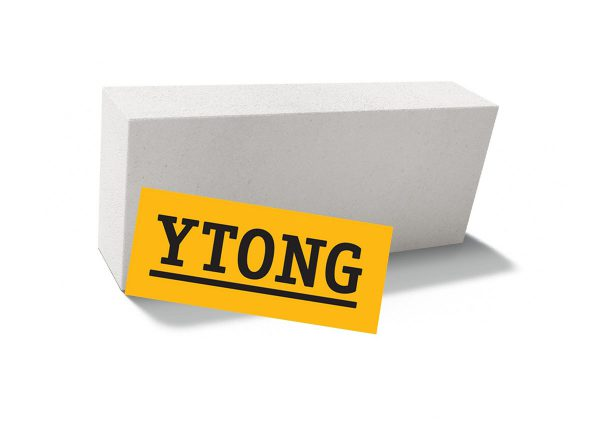 Пеноблок (пенобетонный блок) YTONG D500 625х250х75 перегородочный