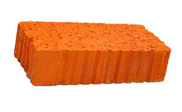 Керамический кирпич строительный (рядовой) полнотелый m-125 рифленая Сафоново