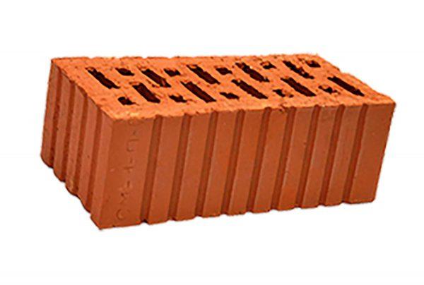 Керамический кирпич строительный (рядовой) пустотелый m-150 рифленая Витебск