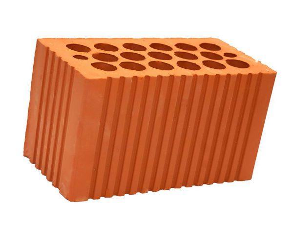 Кирпич двойной щелевой пустотелый M-150 керамический строительный от Кашира
