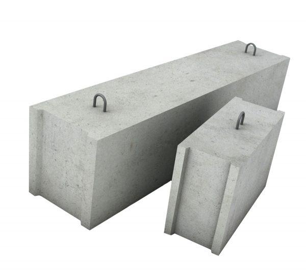 Фундаментный блок ФБС 12-6-3т