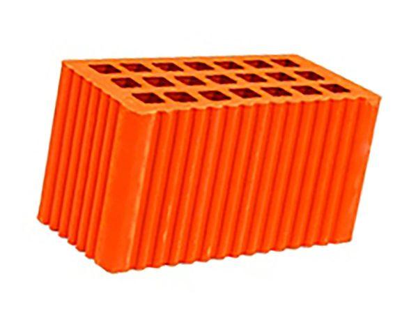 Керамический кирпич строительный (рядовой) пустотелый m-125 рифленая Мстера