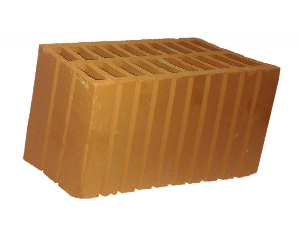 Керамический кирпич строительный (рядовой) пустотелый m-150 рифленая Серго-Ивановский