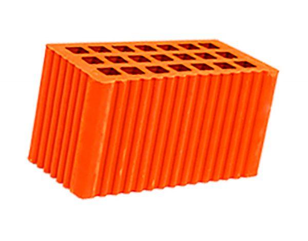 Керамический кирпич строительный (рядовой) пустотелый m-100 рифленая Мстера