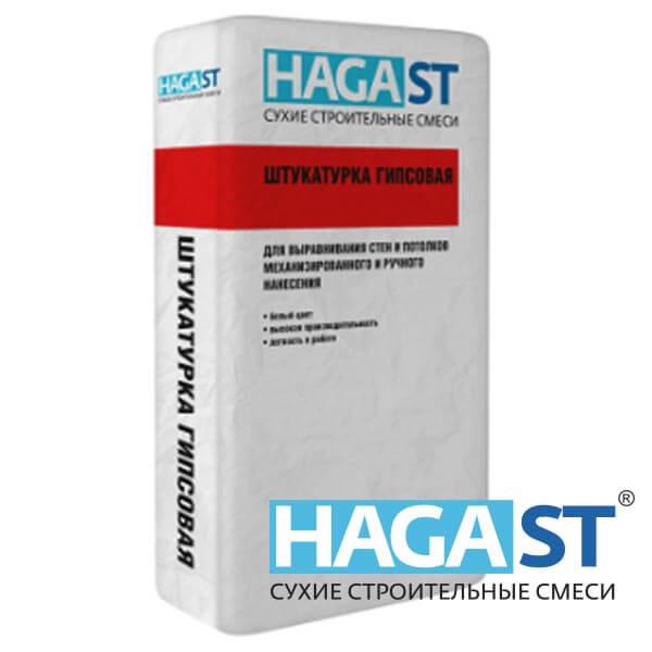 Штукатурка цементная универсальная HAGAST FS-410/40