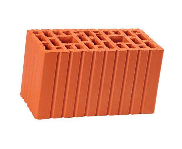 Керамический кирпич строительный (рядовой) пустотелый m-200 рифленая Гжельский КЗ