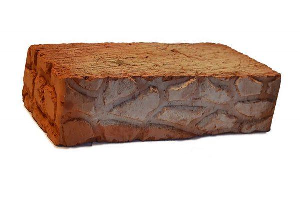 Керамический кирпич строительный (рядовой) полнотелый m-200 рифленая Энгельс