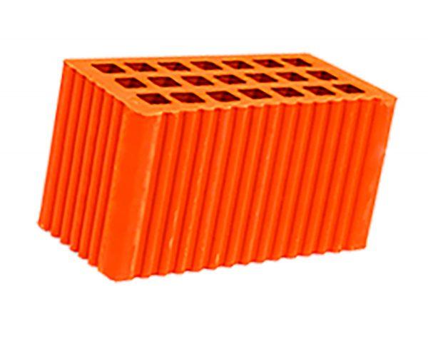 Керамический кирпич строительный (рядовой) пустотелый m-200 рифленая Мстера