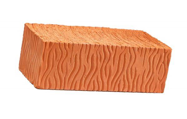 Керамический кирпич строительный (рядовой) полнотелый m-125 рифленая Воротынский