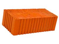 Керамический кирпич строительный (рядовой) полнотелый m-125 рифленая Товарково