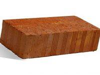 Керамический кирпич строительный (рядовой) полнотелый m-150 рифленая Липки