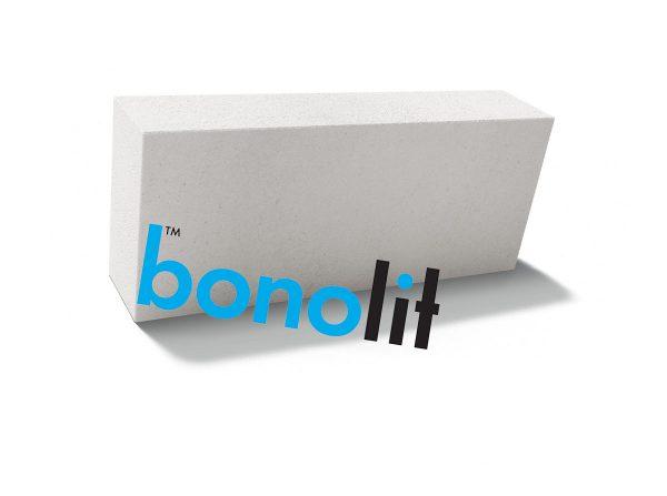 Пеноблок (пенобетонный блок) Bonolit (Бонолит) D600 600х175х250 перегородочный