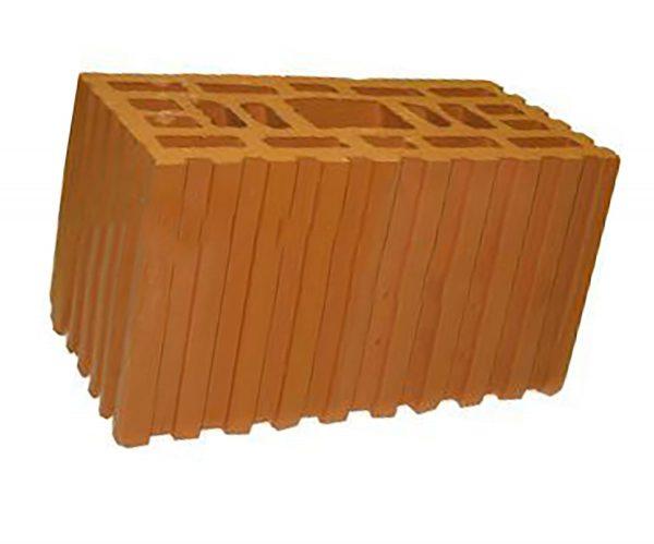 Керамический кирпич строительный (рядовой) пустотелый m-150 рифленая Петрокерамика