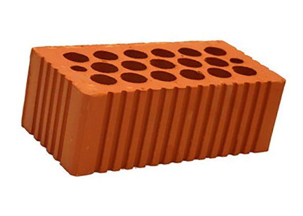 Керамический кирпич строительный (рядовой) пустотелый m-150 рифленая Кашира