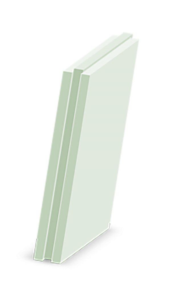 Плита пазогребневая 667x500x80 гипсвая полнотелая МАГМА (влагостойкая)