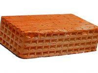 Керамический кирпич строительный (рядовой) полнотелый m-125 рифленая Караси
