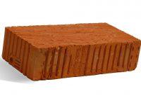 Керамический кирпич строительный (рядовой) полнотелый m-125 рифленая Краснополянский