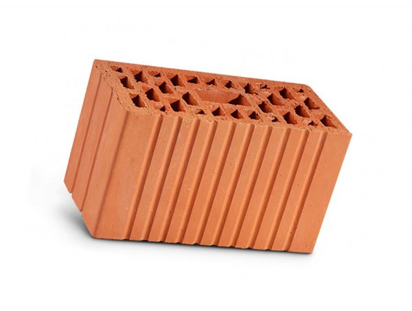 Керамический кирпич строительный (рядовой) пустотелый m-150, m-175 рифленая ЛСР