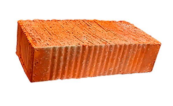 Керамический кирпич строительный (рядовой) полнотелый m-125 рифленая Алексин