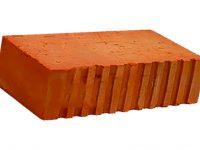 Керамический кирпич строительный (рядовой) полнотелый m-150 рифленая Фокино