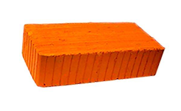 Керамический кирпич строительный (рядовой) полнотелый m-150 рифленая Воскресенск