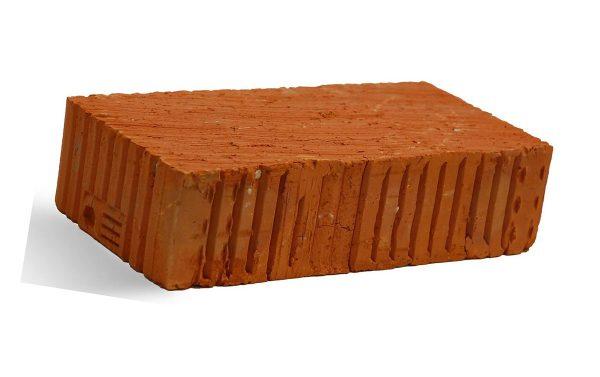 Керамический кирпич строительный (рядовой) полнотелый m-150 рифленая Краснополянский