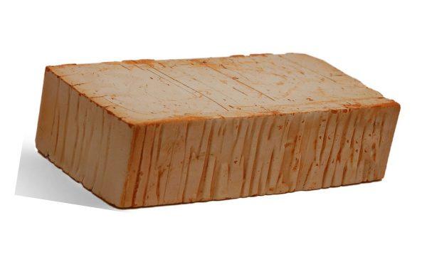 Керамический кирпич строительный (рядовой) полнотелый m-125 рифленая Росслово
