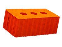 Керамический кирпич строительный (рядовой) полнотелый m-150 рифленая Ломинцево